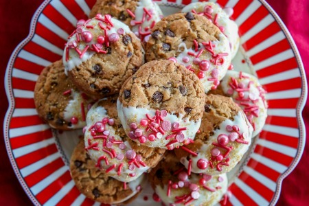 Spiced Eggnog Cookie Sandwiches Recipe with Chips Ahoy