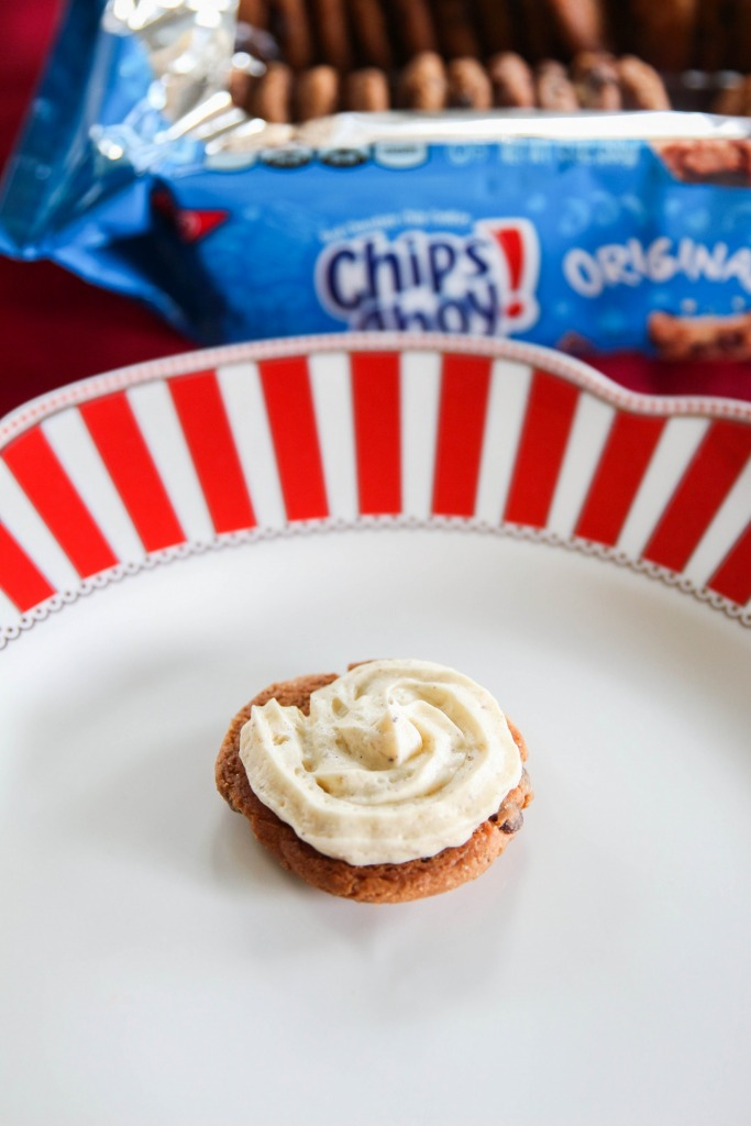 Spiced Eggnog Cookie Sandwiches Recipe with Chips Ahoy 8 683x1024 - Spiced Eggnog Cookie Sandwiches