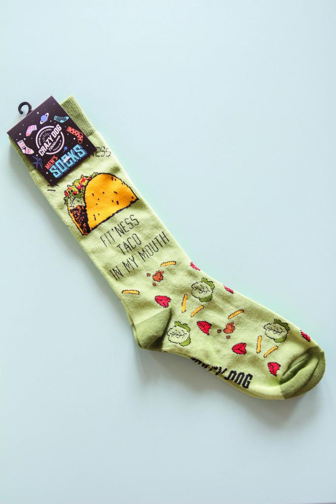 Nerdy Socks 1 683x1024 - Quick Pick: Taco Socks for the Taco Fiend