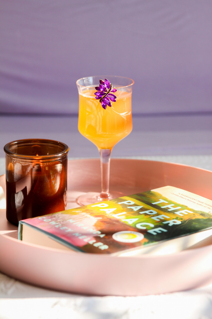 Purple Innovation The Frosted Petticoat 9 683x1024 - Booklover's Recipe for Relaxation: Cocktails, Hardcovers, & Purple
