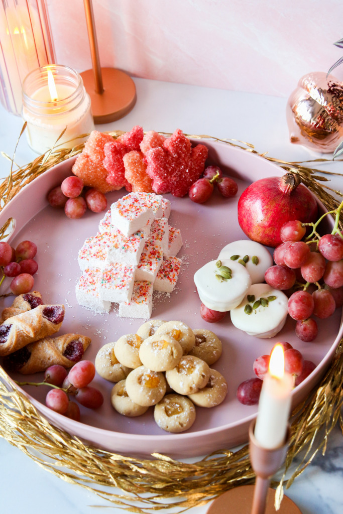 Autumn Dessert Charcuterie Board The Frosted Petticoat 5 683x1024 - Autumn Dessert Charcuterie Board with Karo® Syrup